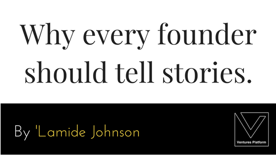 image for why every founder should tell stories